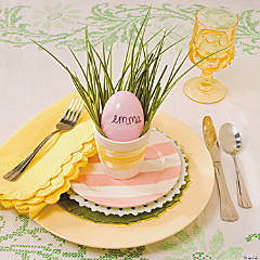 Easter Egg Place Setting Idea