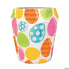 Easter Egg Plastic Trash Can Cover