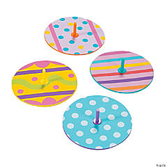 Easter Egg Spin Tops
