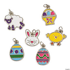 Easter Enamel Charm Assortment