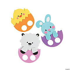Easter Friends Finger Puppet Craft Kit