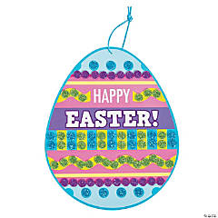 Easter Glitter Mosaic Sign Craft Kit