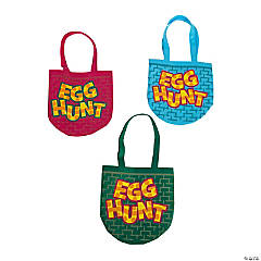 Easter Hunt Tote Bags