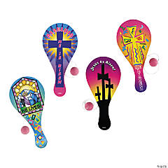 Easter Inspirational Paddleball Games