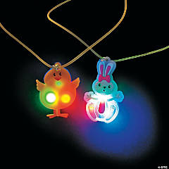 Easter Light-Up Necklaces