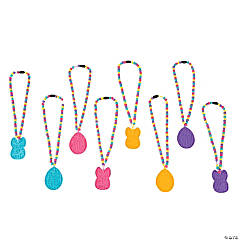 Easter Maze Beaded Puzzle Necklaces