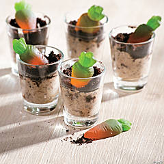 Easter Mini Carrots in Dirt Cup Recipe