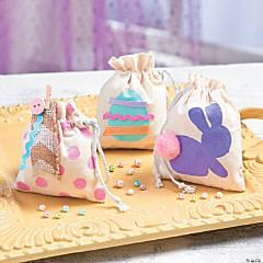 Easter Mini Drawstring Bags Idea