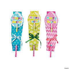 Easter Notepads with Pencils