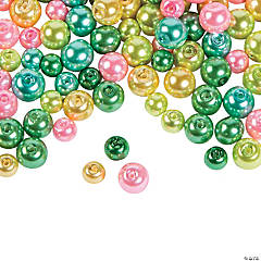 Easter Pearl Bead Assortment - 4mm - 10mm