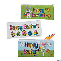Easter Pencil Bags