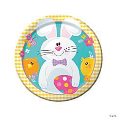 Easter Picnic Paper Dinner Plates