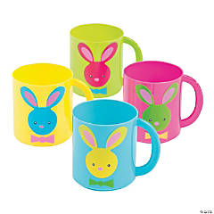 Easter Plastic Mugs