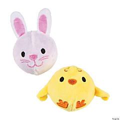 Easter Plush Bouncy Ball Assortment