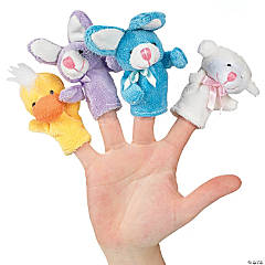 Easter Plush Finger Puppets