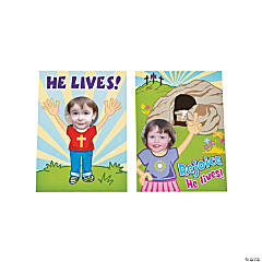 Easter Religious Picture Frame Cards