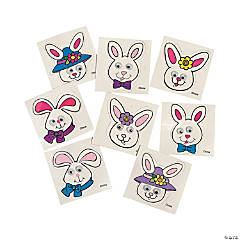Easter Stickers - Happy Easter, Easter Bunny & Easter Egg Stickers