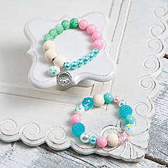 Easter Stretch Bracelets Idea