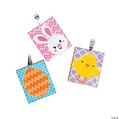 Easter Tile Pendants