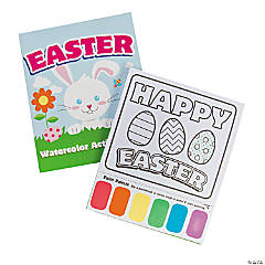 Easter Watercolor Paint Activity Books