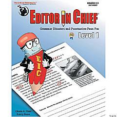 Editor in Chief® Level 1, Grades 4-5