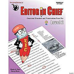 Editor in Chief® Level 2, Grades 6-8