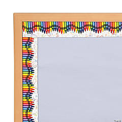 Edupress® Crayon Bulletin Board Borders