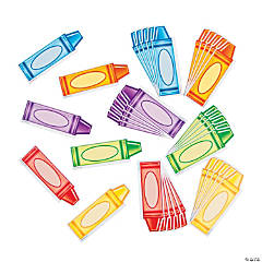 Edupress® Crayon Mini Accent Cutouts