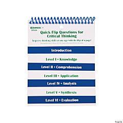 Edupress® Quick Flip Questions for Critical Thinking