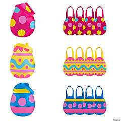 Egg-Cellent Easter Egg Tote Bags