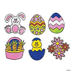 Egg-Citing Easter Suncatchers
