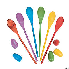 Egg Spoon Game Set
