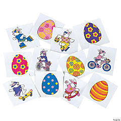 Egg-Stream Easter Tattoos