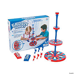 Ejection Magnetic Target Game