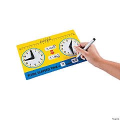 Elapsed Time Dry Erase Boards