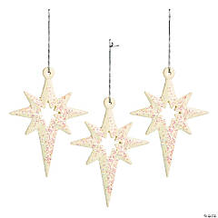 Elegant Christmas Star Ornaments