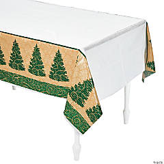 Elegant Christmas Tablecloth
