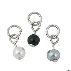 Elegant Pearl Dangle Charms