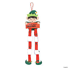 Elf Christmas Countdown Paper Chain Craft Kit