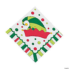 Elf Luncheon Napkins