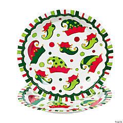 Elf Paper Dinner Plates
