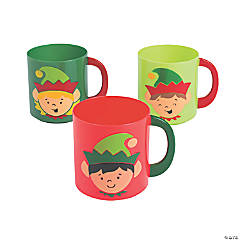 Elf Plastic Mugs