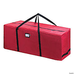 Elf Stor Premium Rolling Duffle Style Bag-Red, 24.5