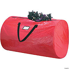Elf Stor Tree & Wreath Storage Bag Combo-Red, 9ft Tree, 30