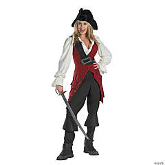 Elizabeth Pirate Adult Women's Costume