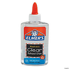Elmer&#8217;s<sup>&#174;</sup> Washable Clear School Glue Bottles