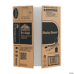 Elmer's® Mini Corrugated Tri-Fold Display Board