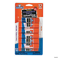 Elmer's® School Disappearing Glue Sticks - 12