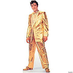 Elvis Presley - Gold Lamé Suit Stand-Up