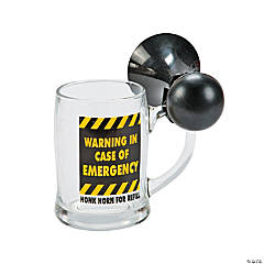 Emergency Beer Mug with Horn